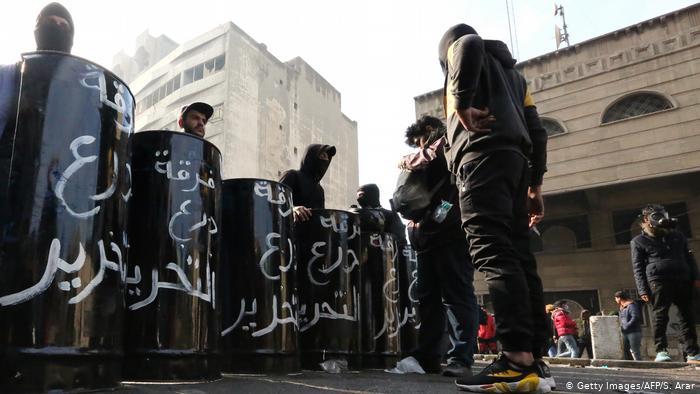 ერაყში ანტისახელისუფლებო დემონსტრანტების ბანაკებში რეიდისას შეტაკება მოხდა