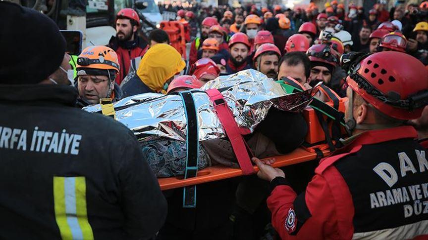 თურქეთში მაშველებმა ქალი გადაარჩინეს, რომელიც მიწისძვრის შემდეგ ნანგრევებში 17 საათი იმყოფებოდა