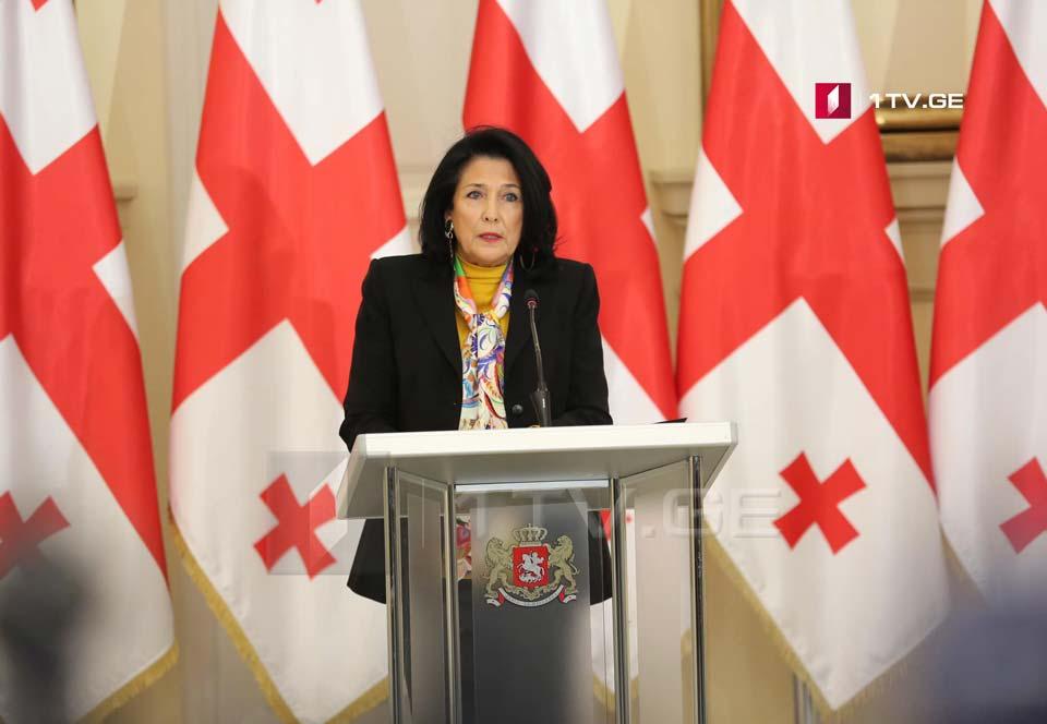 Salome Zurabişvili Avropa Şurası Parlament Assambleyasında nitqlə çıxış edəcək