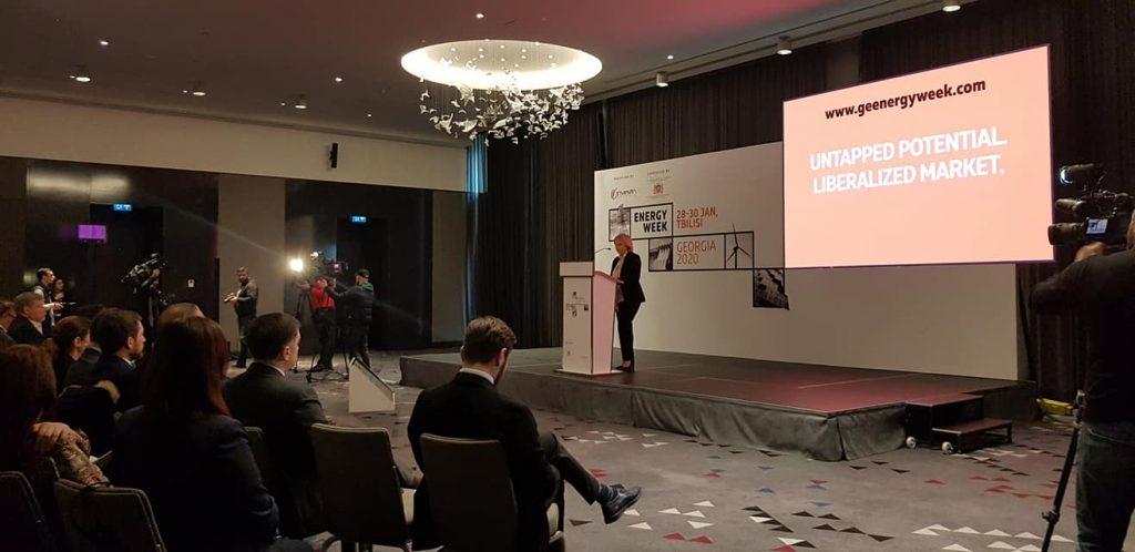 """თბილისში """"საქართველოს ენერგეტიკის კვირეული 2020"""" გაიხსნა"""