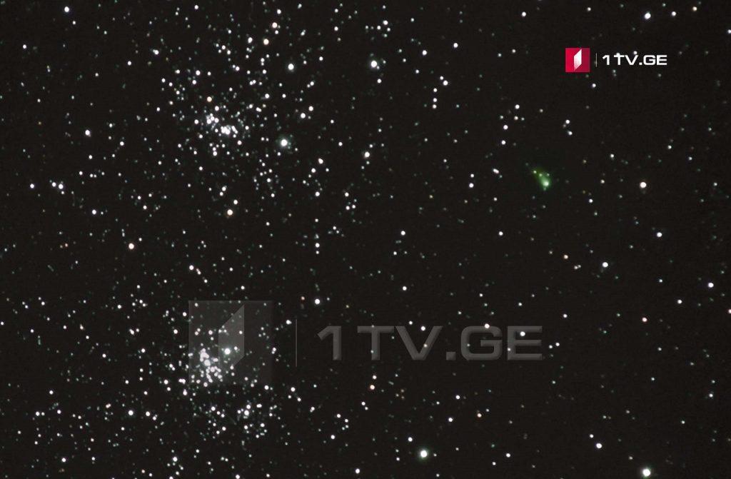შორეული კომეტა ირაკლი გედენიძის ასტროობიექტივში