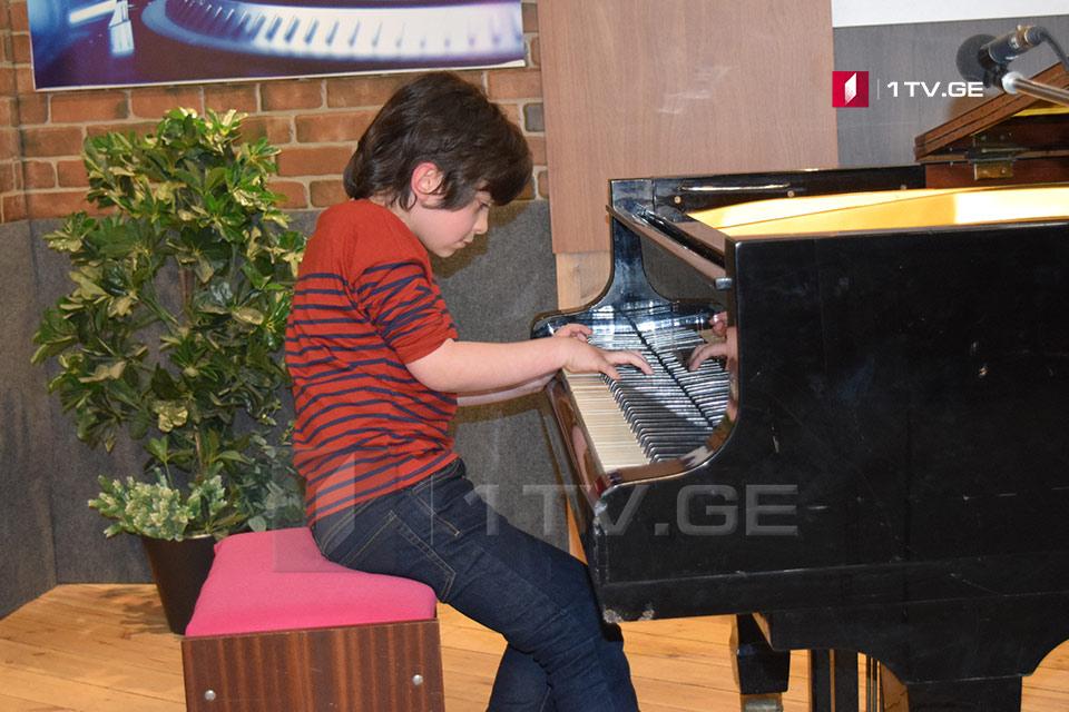 კლასიკა ყველასთვის - 10 წლის კომპოზიტორი და პიანისტი ცოტნე ზედგინიძე