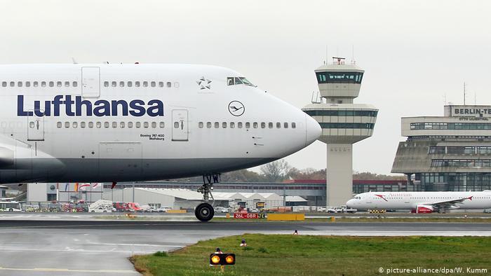 """""""Lufthansa"""" alman aviaşirkəti Çin istiqamətinə bütün reysləri ləğv edir"""