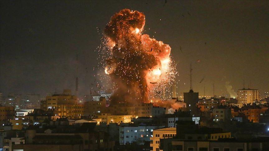 """ისრაელის ავიაციამ ღაზას სექტორში """"ჰამასის"""" ობიექტები დაბომბა"""