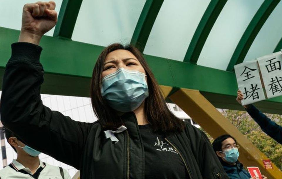 ჰონგ კონგში ჩინეთთან საზღვრის დაკეტვის მოთხოვნით ასობით მედიკოსი გაიფიცა