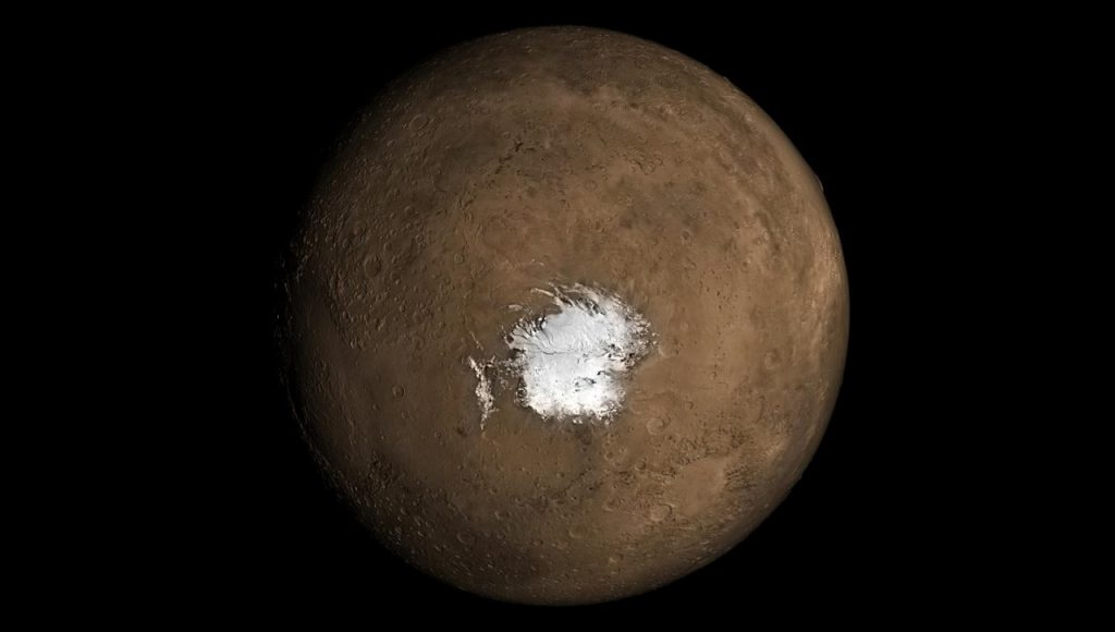 მარსის სამხრეთ პოლუსის დიდი ხნის საიდუმლო სავარაუდოდ საბოლოოდ ამოიხსნა