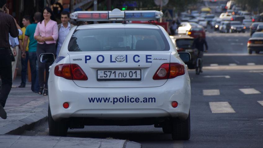 Georgian Ambassador's car robbed in Yerevan