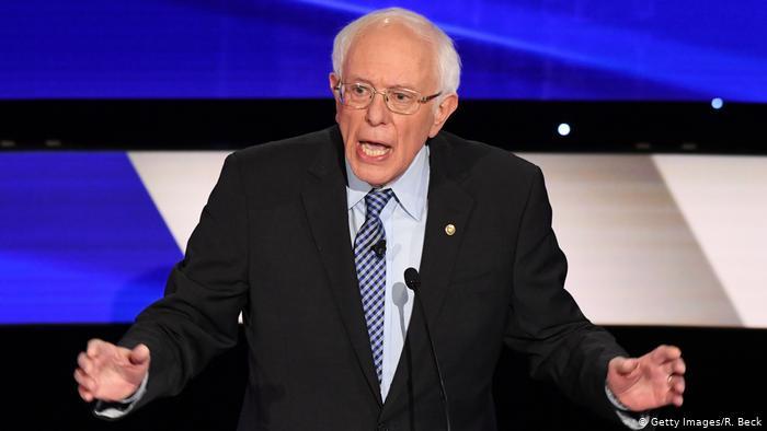 ბერნი სანდერსმააიოვას შტატში, დემოკრატების შიდაპარტიულ კენჭისყრაში თავი გამარჯვებულად გამოაცხადა