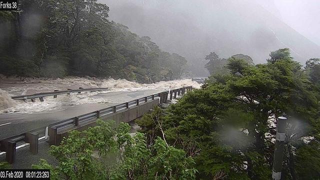 ახალ ზელანდიაში წყალდიდობის გამო მოქალაქეებისა და ტურისტების ევაკუაცია მოხდა
