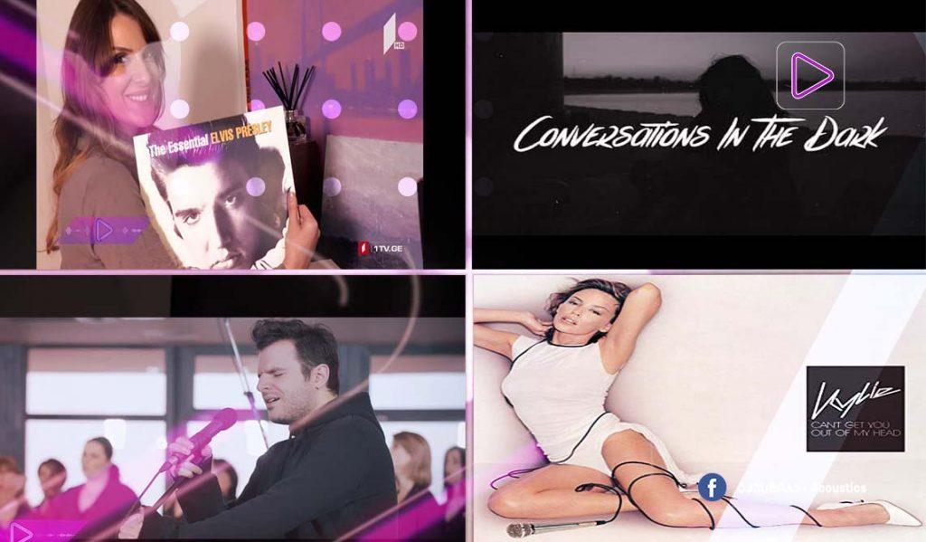 რადიო აკუსტიკა - ლიკა ევგენიძის საყვარელი სამი სიმღერა