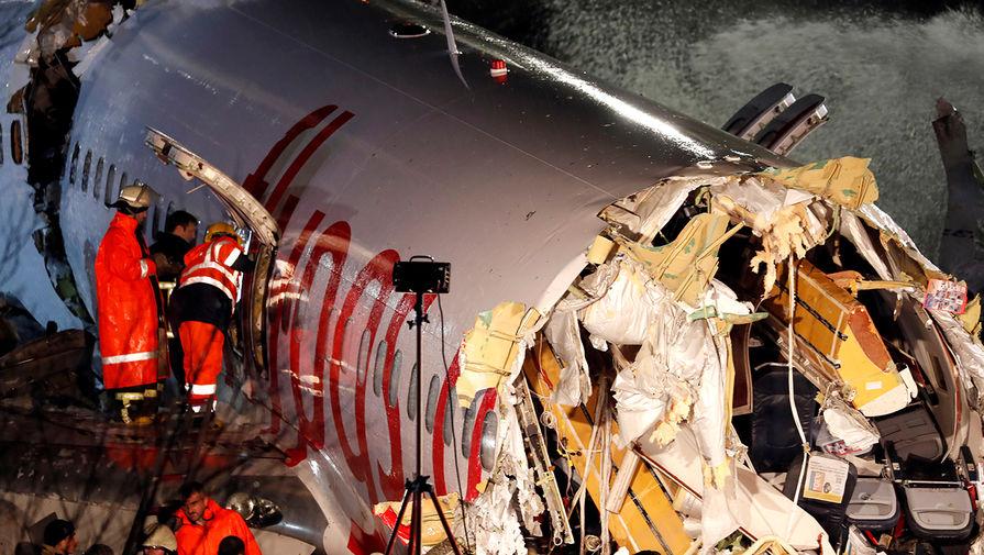 სტამბოლის საბიჰა გოქჩენის აეროპორტში თვითმფრინავის ავარიულად დაშვების შედეგად დაშავებულთა რიცხვი გაიზარდა