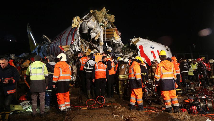 სტამბოლის აეროპორტში თვითმფრინავის ავარიულად დაშვების შედეგად გარდაცვლილია ერთი და დაშავებულია 157 ადამიანი