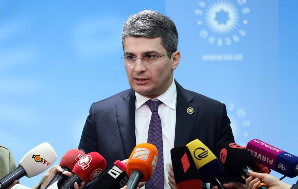 Mamuka Mdinaradze comments on the failure of the resolution on Georgia