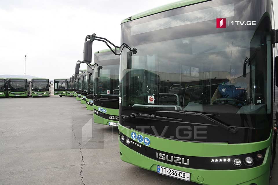 ავტობუსები - N12, N22, N58, N30, N91 და N92 ახალი მოდელებით შეიცვლება