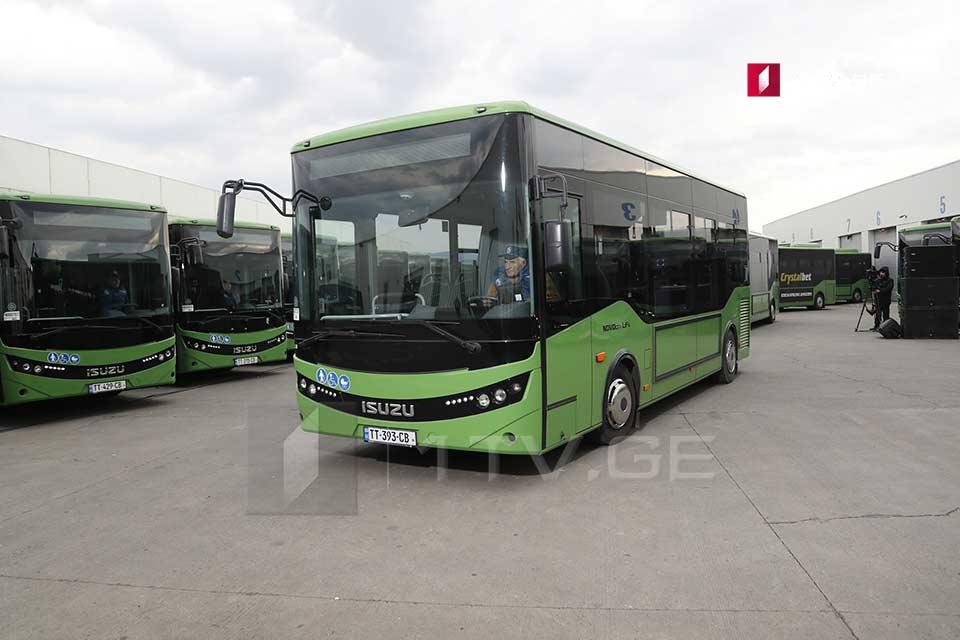 თბილისს 126 ერთეული 12-მეტრიანი ავტობუსი შეემატება