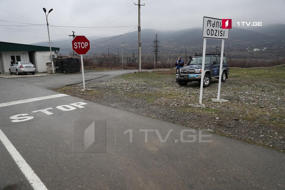 Occupation forces close entrance to Akhalgori