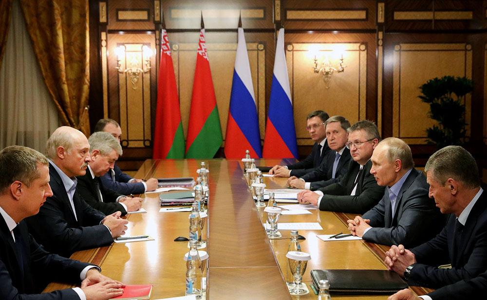 რუსეთის პრეზიდენტის ადმინისტრაციის ცნობით, არსებული პირობებით რუსული ბუნებრივი აირი ბელარუსს წლის ბოლომდე მიეწოდება