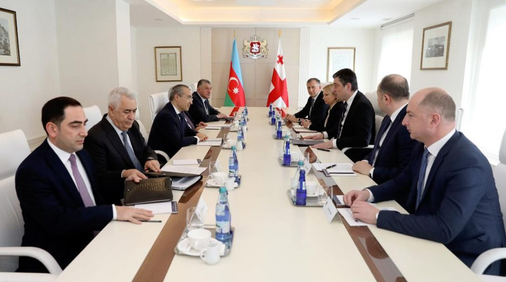 Giorgi Gakharia and Economy Minister of Azerbaijan discussed economic cooperation issues