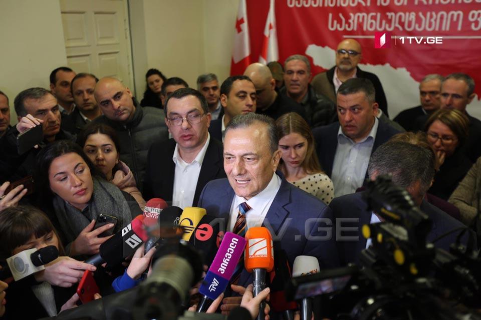 Шалва Нателашвили - Оппозиция прекращает всяческие переговоры