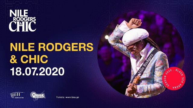Black Sea Arena to host Nile Rodgers & CHIC
