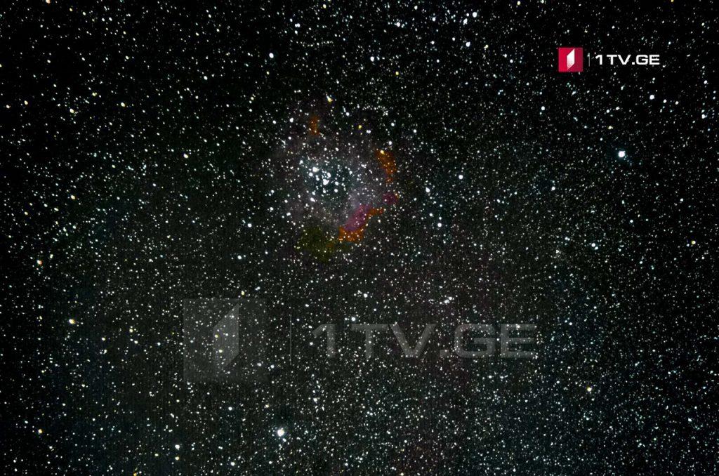 როზეტის ნისლეული ირაკლი გედენიძის ასტროობიექტივში