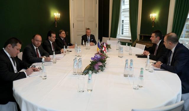 გიორგი გახარიამ რუმინეთის პრემიერთან საქართველო-რუმინეთს შორის არსებული ურთიერთობები და თანამშრომლობის ძირითადი მიმართულებები განიხილეს