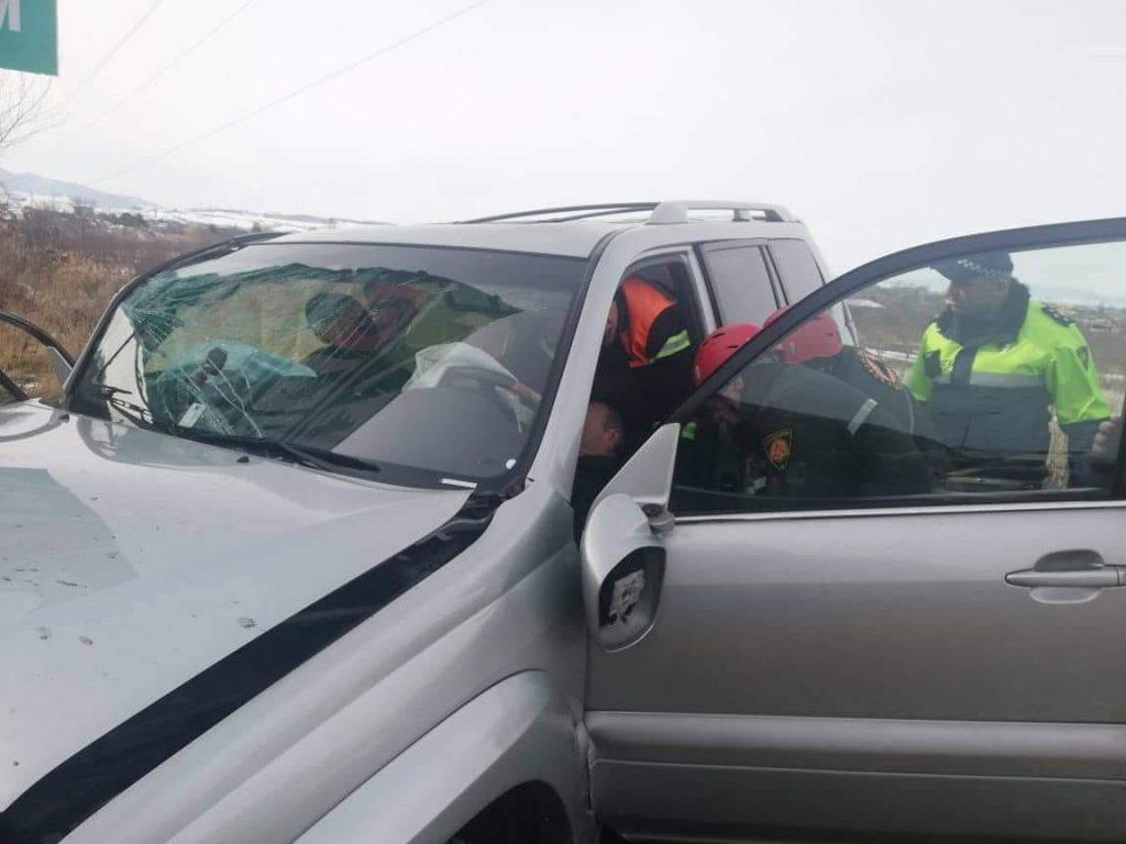Գորի քաղաքի մոտ տեղի ունեցած ավտովթարի հետևանքով զոհվել է մեկ մարդ