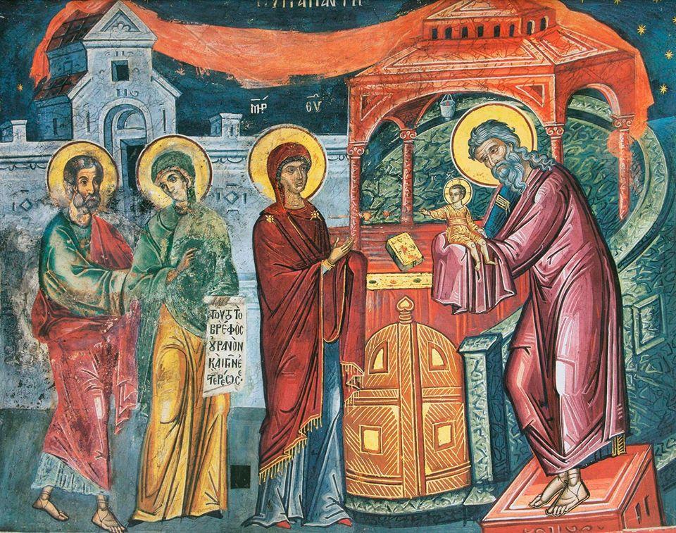 #ჩაკრულო - მირქმა (მიგებება) უფლისა ჩვენისა იესო ქრისტესი