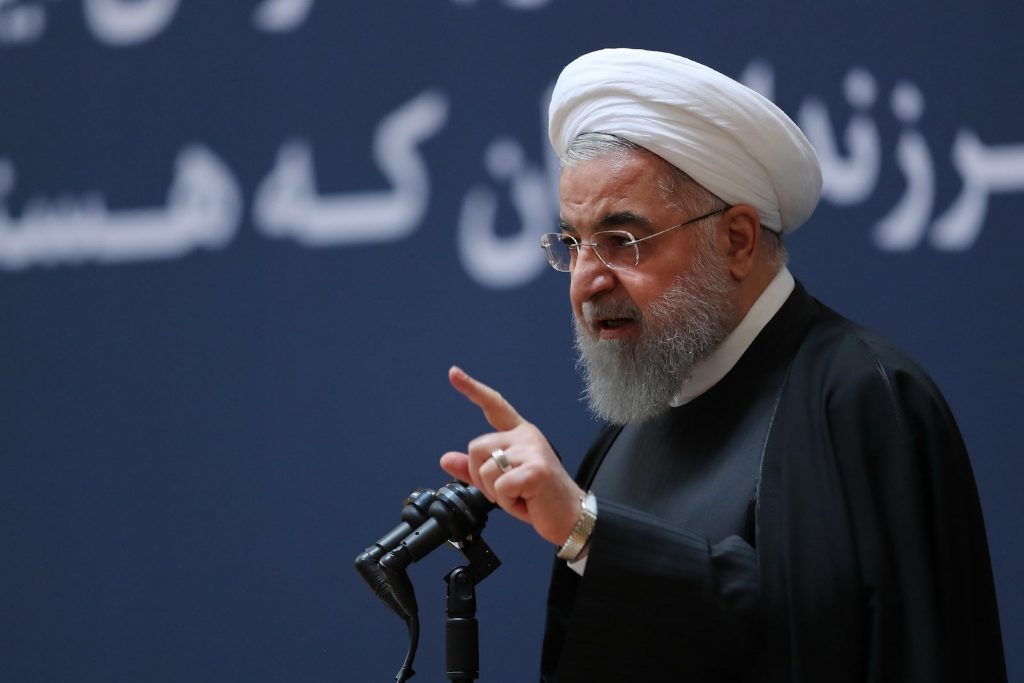 ჰასან როუჰანი- ირანი არასდროს გამართავს მოლაპარაკებებს აშშ-თან ზეწოლის ქვეშ