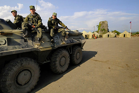 Russia launches military exercises in the North Caucasus