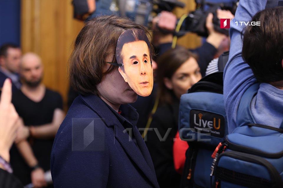 Verbal confrontation in Georgian Parliament