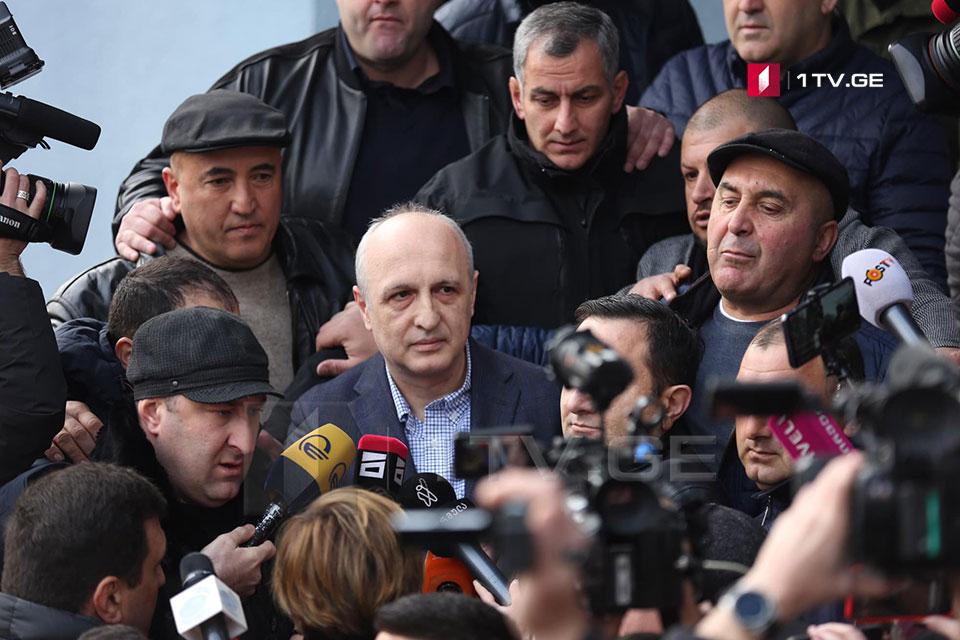ვანო მერაბიშვილი - დღევანდელი ხელისუფლების დამხობის შემდეგ, პოლიტპატიმრებისთვის ამ ციხის კარი ფართოდ გაიღება