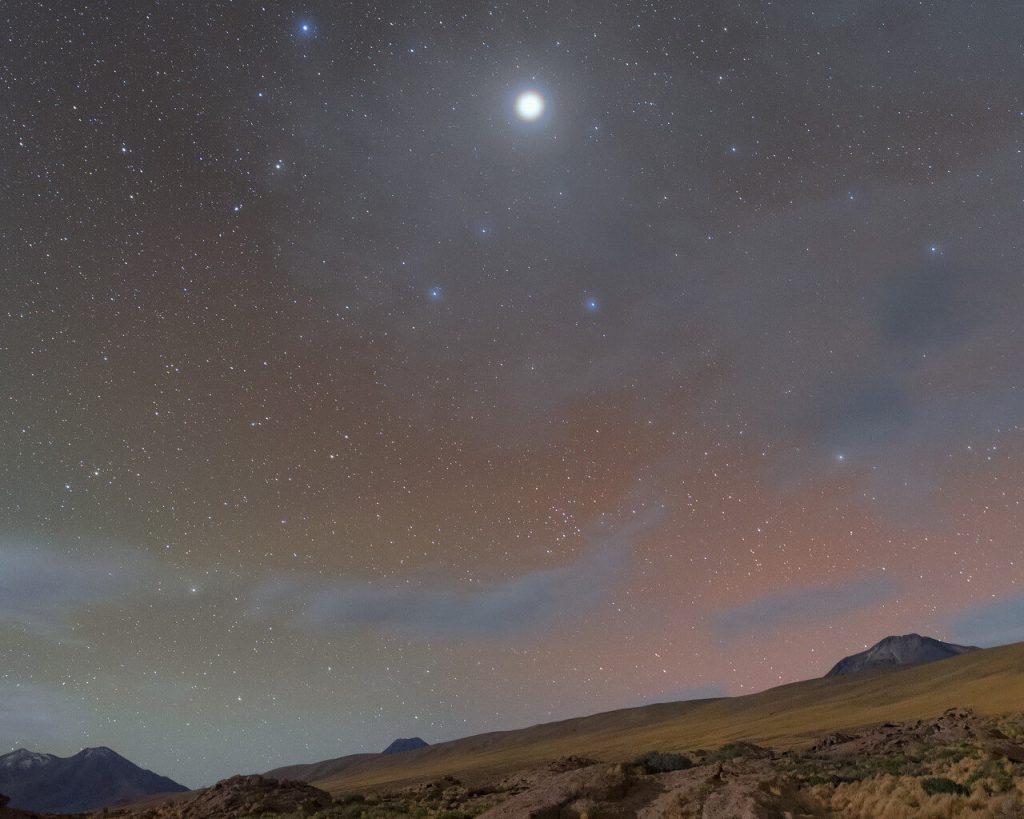 ატაკამის უდაბნოდან იუპიტერის ჰალოს უიშვიათესი ფოტო გადაიღეს