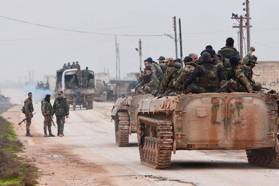 თურქეთმა იდლიბში ბაშარ ასადის რეჟიმის წინააღმდეგ სამხედრო ოპერაცია დაიწყო