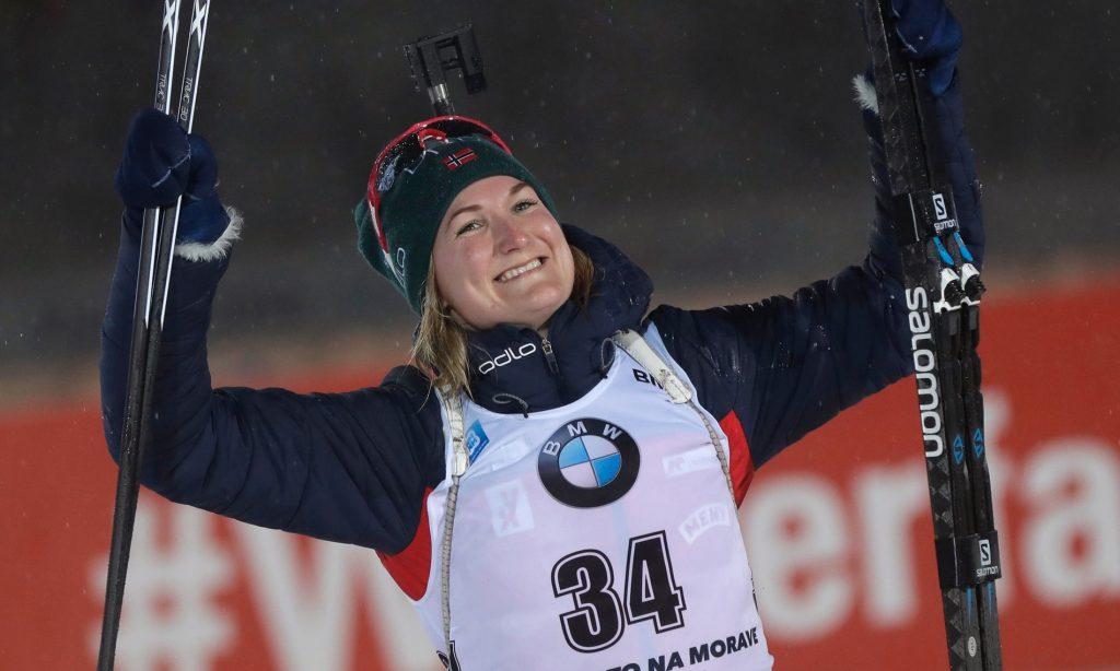 ესტაფეტა შერეულ წყვილებში ნორვეგიამ მოიგო - ბიატლონი