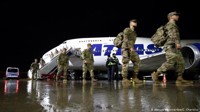 НАТО aррaтә aзыҟaҵaрaқәa рҽaлaрхәрa aмзызлa, aмерикaтә aруaa Гермaнтәылaҟa инеит