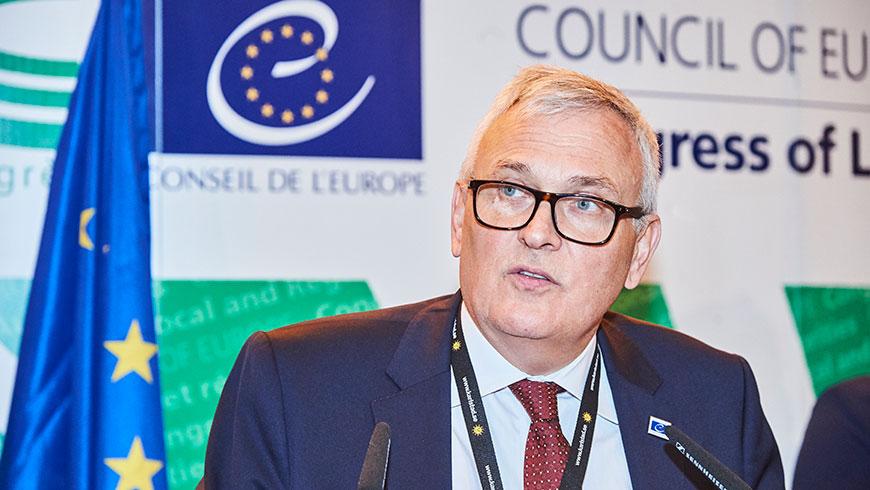 საქართველოს ევროპის საბჭოს ადგილობრივ და რეგიონულ ხელისუფალთა კონგრესის პრეზიდენტი ეწვევა