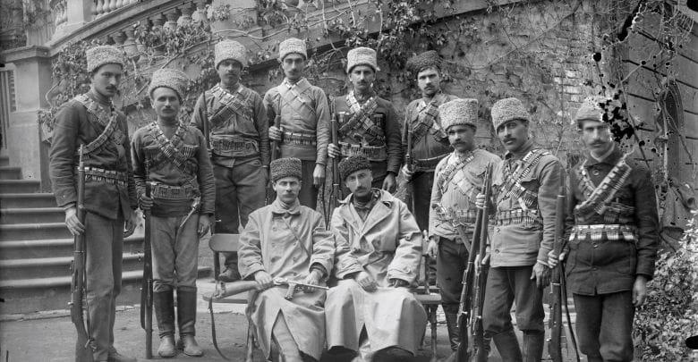 რადიო ექსპრესი - საქართველოს პირველი რესპუბლიკის შეიარაღებული ძალები