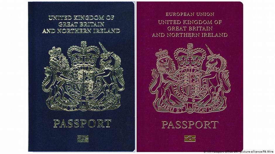 დიდ ბრიტანეთში მარტიდან გასცემენ პასპორტებს, რომელშიც ევროკავშირი აღარ ეწერება