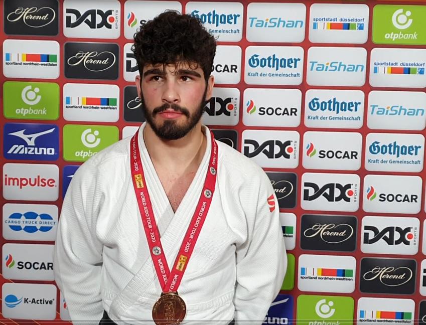 Georgian Judoka Tato Grigalashvili wins Gold at Dusseldorf Grand Slam