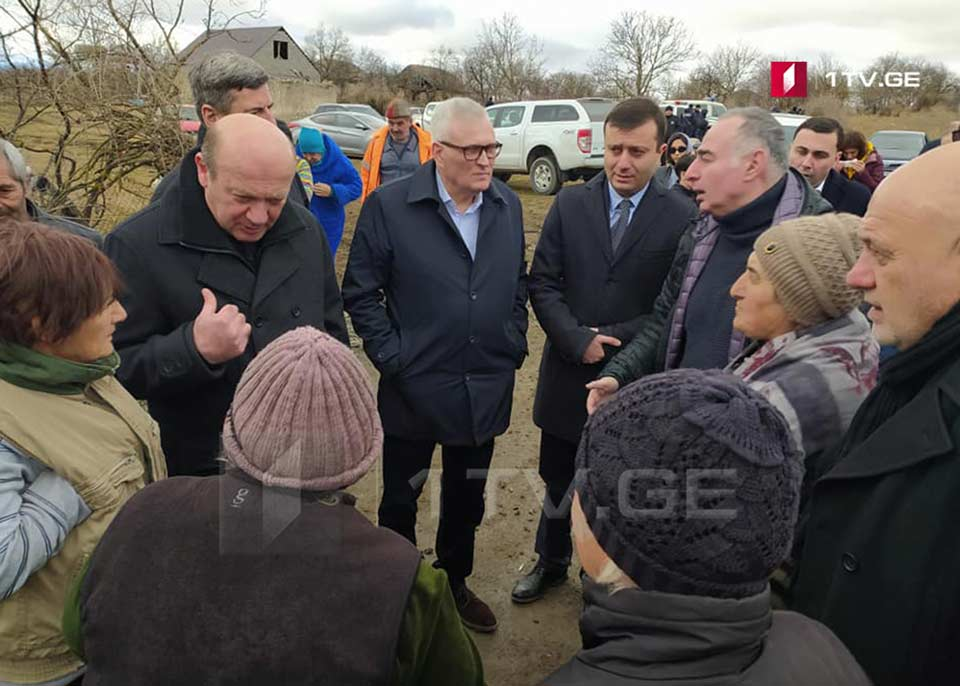 CoE delegation visits Khurvaleti village