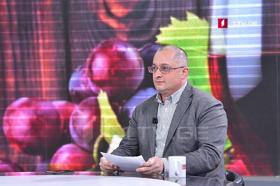 დავით ტყემალაძე - ქართული ღვინის ექსპორტის კლება სავარაუდოდ ჩინეთის ფაქტორმა განაპირობა, თუმცა დარგი გამართულია და ვფიქრობ, წელს ზრდით დავასრულებთ