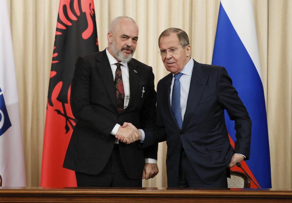 ეუთო-ს თავმჯდომარემ, ალბანეთის პრემიერ-მინისტრმა სერგეი ლავროვთან შეხვედრისას საქართველოს კონფლიქტზე ისაუბრა