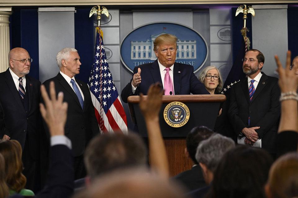 დონალდ ტრამპი - ამერიკელი ხალხისთვის კორონავირუსის რისკი ძალიან დაბალია, აშშ მსოფლიოში საუკეთესოდ მომზადებული ქვეყანაა