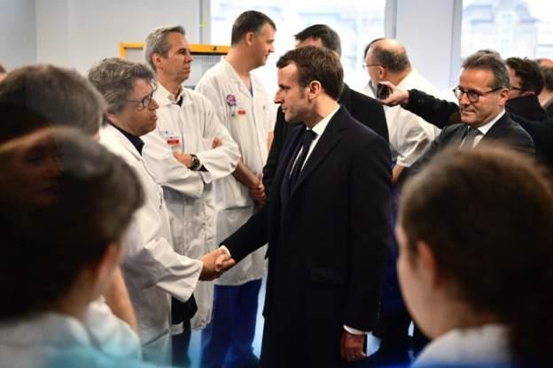Emanuel Makron - Fransada epidemiya təhlükəsi mövcuddur