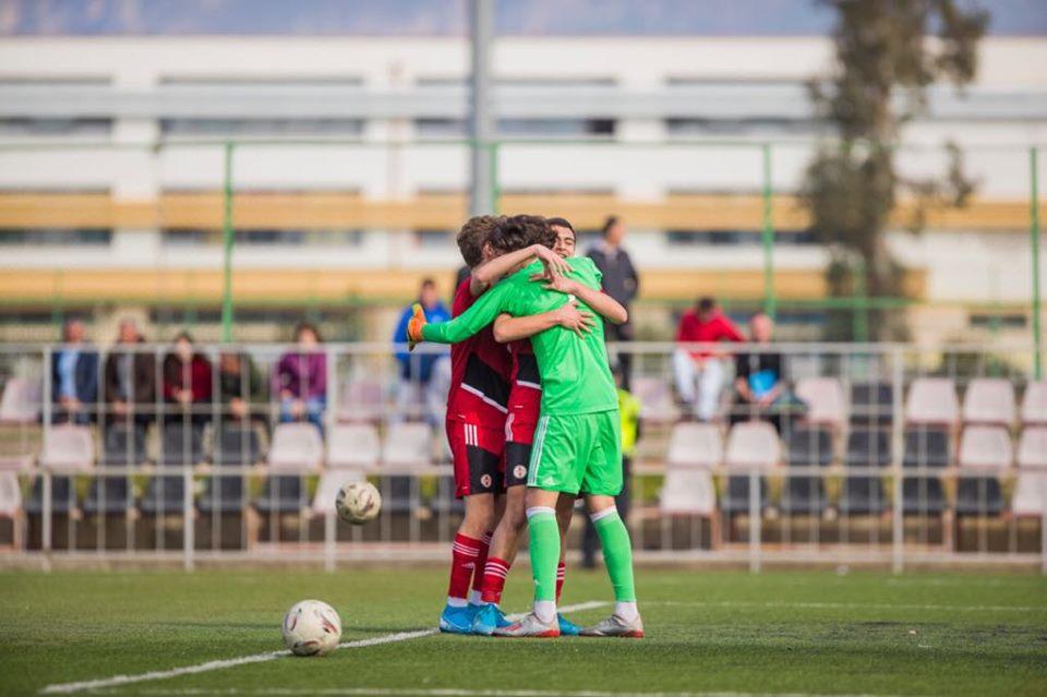 ერთი ნაბიჯი თასის აწევამდე - 16-წლამდელები ალბანეთის ტურნირზე ლიდერობენ