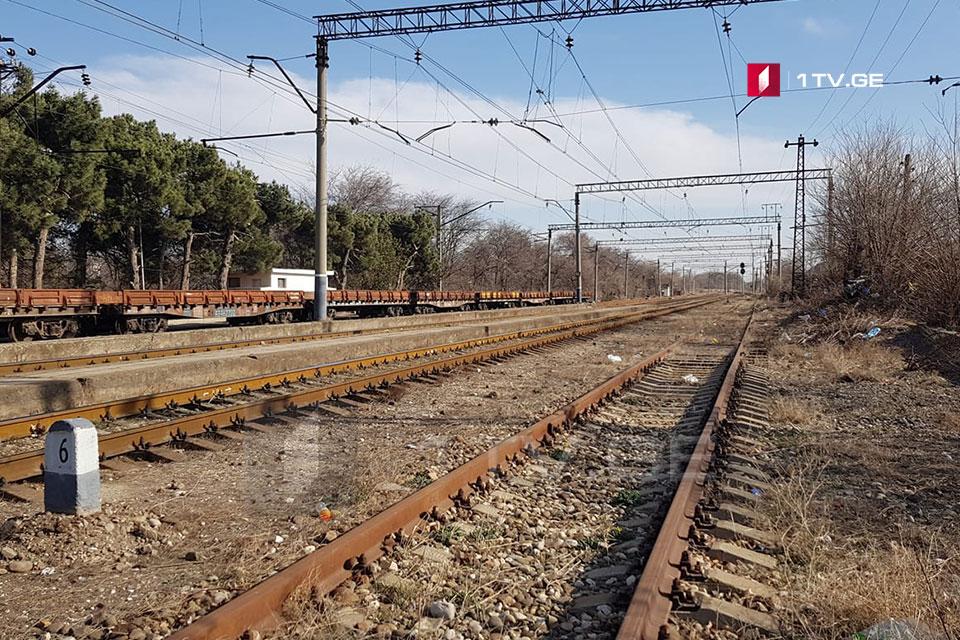 რუსთავში, რკინიგზის სადგურზე მატარებლის შეჯახების შედეგად მამაკაცი დაიღუპა