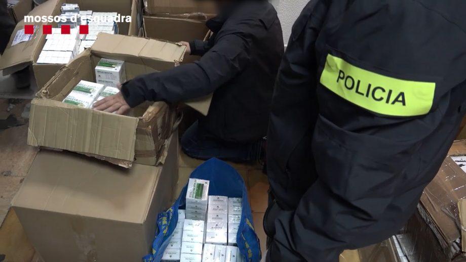ესპანეთში 1.5 მილიონი დოზა დოპინგი ამოიღეს