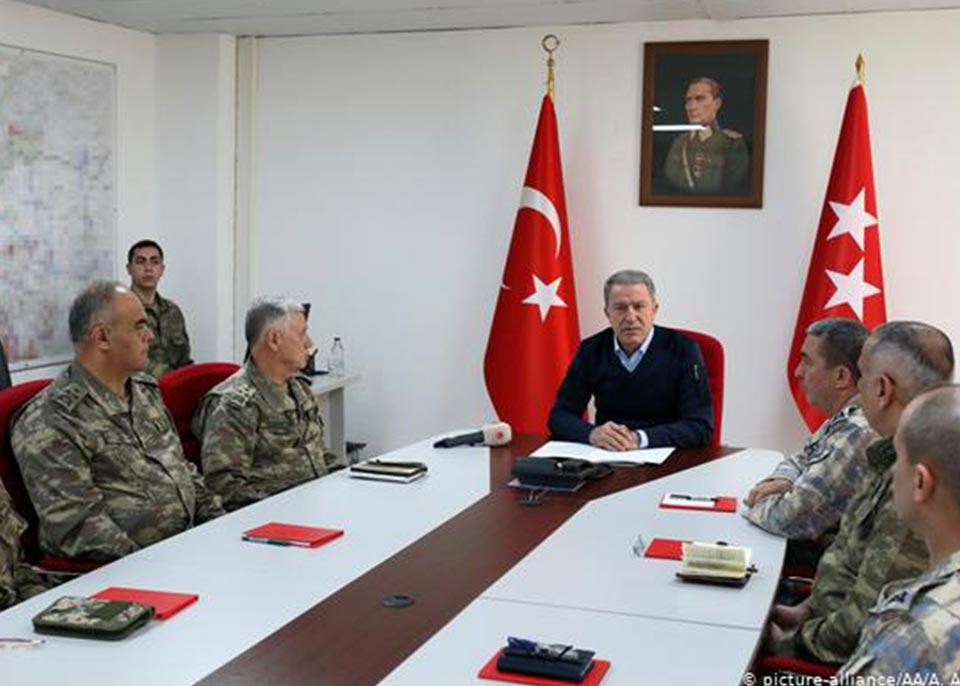 თურქეთის ხელისუფლება აცხადებს, რომ სირიაში 27 თებერვლიდან სამხედრო ოპერაციას ატარებს