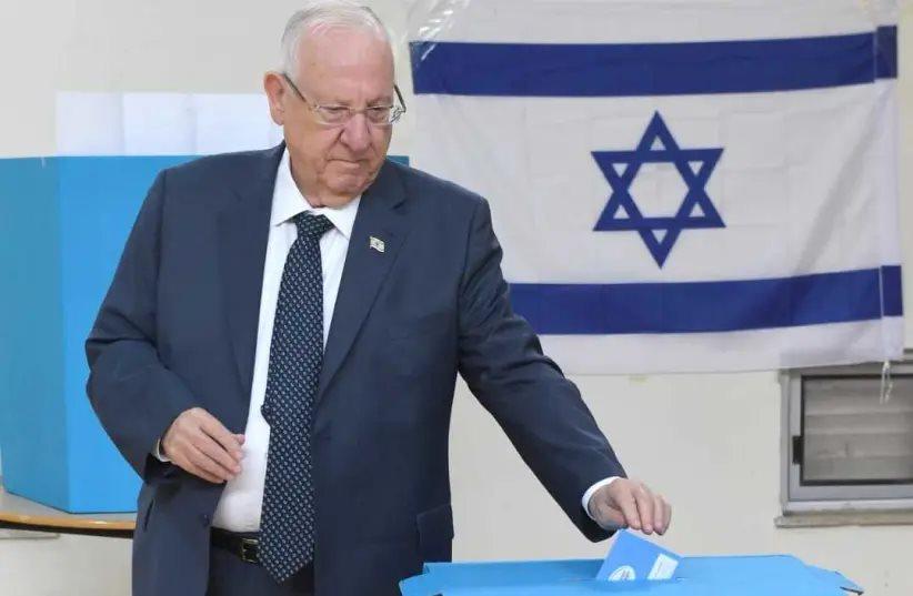 ისრაელის პრეზიდენტი - ბოლო ერთ წელიწადში მესამე საპარლამენტო არჩევნებში მონაწილეობის გამო, სირცხვილის განცდა მაქვს